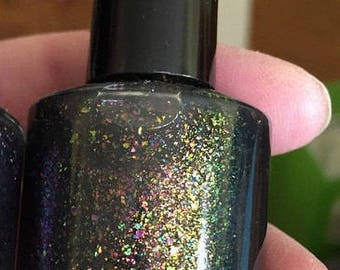Multichrome flaky nailpolish - deep in the forest 15ml