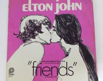 Elton John Friends Original Soundtrack Vinyl LP Record Album SPC-3598