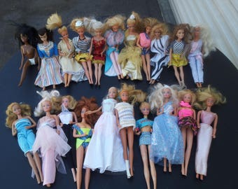 Barbie dolls lot of 50