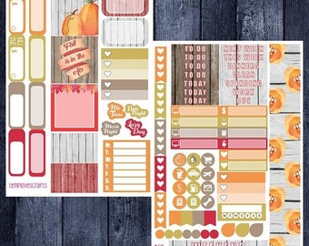 Weekend Sale Floral Fall Kit for Personal Planner