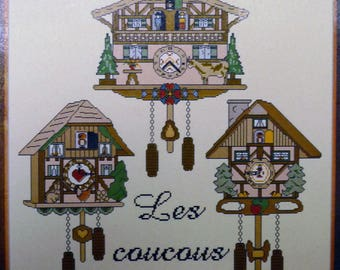 cuckoo clock created by création Jean Louis Grandsire for anagram diffusion