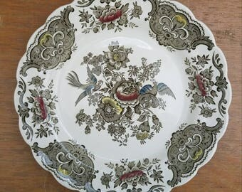 """Vintage Ridgway Windsor 8"""" Plate"""