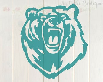 Bear SVG, PNG, DXF files, instant download