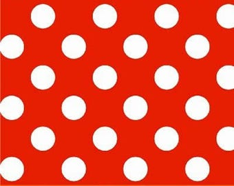 Dots Red and White- American Basics by Windham Fabrics