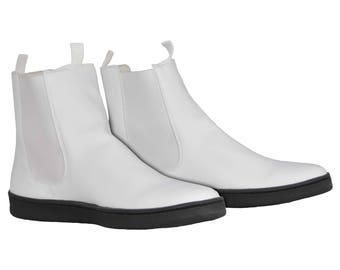 New First Order Stormtrooper Ankle Boots - Pro / Trooping Version - Flat Sole