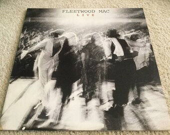 Fleetwood Mac LIVE 2LP Vinyl Record album Stevie nicks