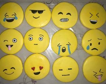 Emoji Theme Cookies