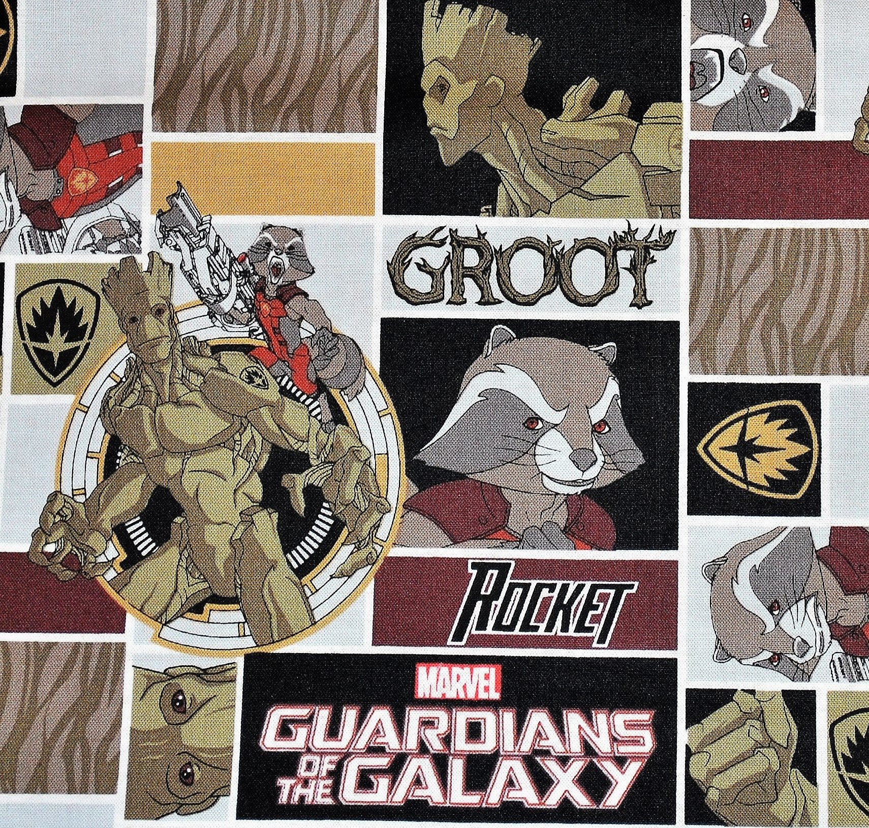 Guardians of the galaxy fabric from crookilleycrafts on for Galaxy fabric canada