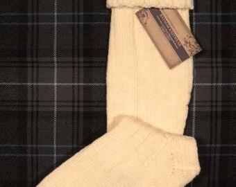 Hand Knitted Kilt Hose / Socks - Made in Scotland - Baymar Knitwear