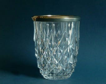 Val st Lambert Art deco crystal vase
