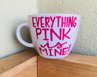 Everything pink is mine - i love pink- pink is my favorite color- pink everything