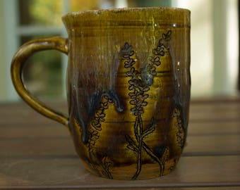 Ceramic Lavender Mug