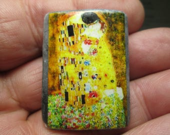 Brooch - Klimt - The Kiss