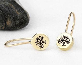 Tree Earrings, Tree Jewelry, Tree, Tree of Life, Tree of Life Earring, Tree Jewellery, Tree of Life Earring, Tree of Life Jewelry, e247b