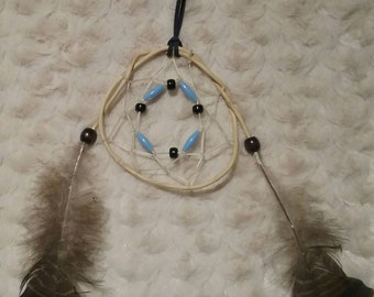 4 1/2 inch honey suckle vine dreamcatcher