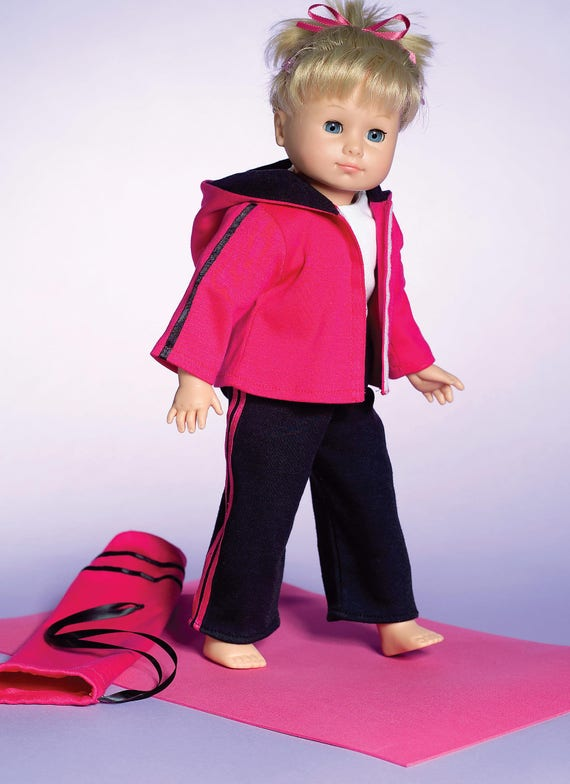 M4896 Oop Mccall S Doll Modern Clothes Pattern Fit