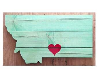 Mini Montana Heart Signs