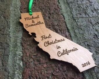California State Ornament