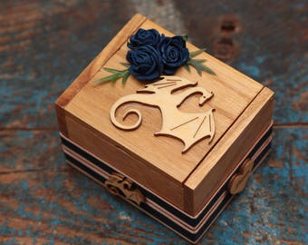 Ringbearer box dragon theme