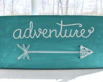 Adventure - String Art