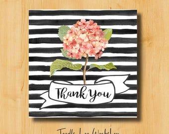 Thank You Sticker | Bridal Stickers | Wedding Labels | Wedding Stickers for Favors | Thank You Labels