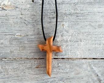 Cross Crucifix made of olive wood 13