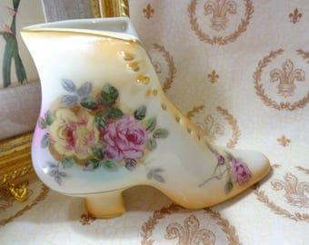 Ladies Porcelain Shoe
