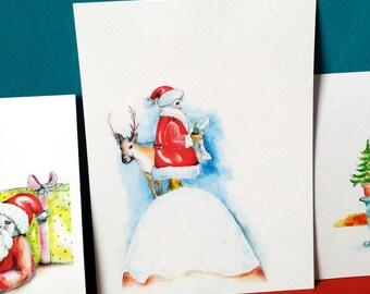 Christmas Postcards