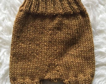 3-6 months Knitted Baby Shorts