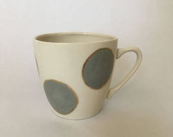 Polka Dot Tea Cup
