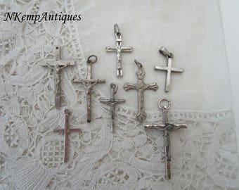 Old crucifix x 8