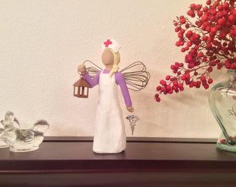 Florence Nightingale Nurse Figurine - Nurse RN Graduation Gift