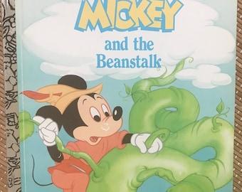 a Little Golden Book - Walt Disney's Mickey and the Beanstalk