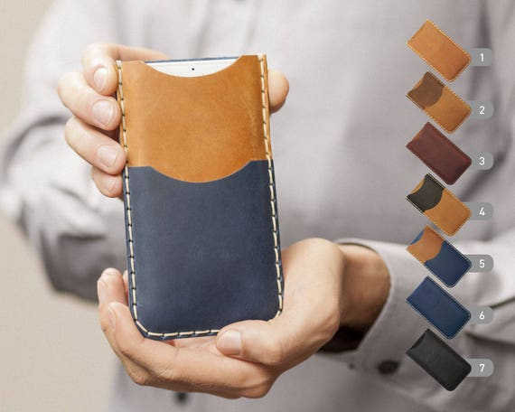 Nokia 2 8 6 5 3 Case Pouch. Handmade Cover Genuine Real Leather Shell Wallet Sleeve Rough Vintage Style Custom Sizes