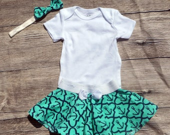 Anchor Baby Going Home Outfit