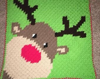 Reindeer baby graphaghan