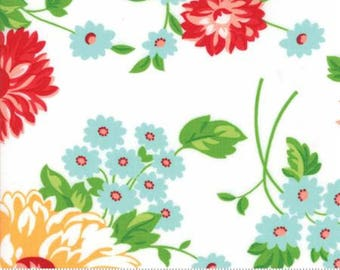 The GOOD LIFE by Bonnie and Camille for Moda Fabrics Scrumptious Floral Cream