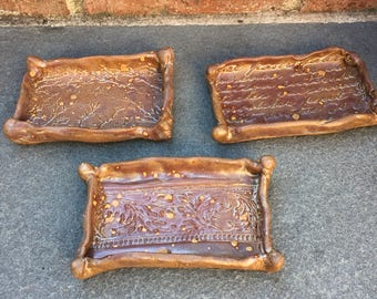 Soap Dishes -Glowing Embers