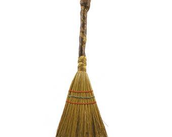 Vintage 1970s Handmade Broom or Hearth Brush