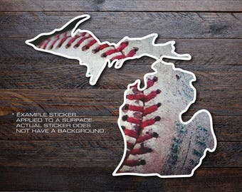 Michigan Mitten Vinyl Decal Sticker A47