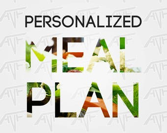Personalized meal plan!