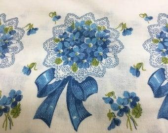 MISSIONS FUND RAISER- Vintage Unopened Feedsack Pillowcase