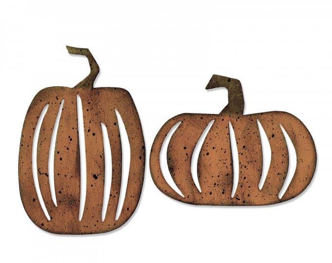 New! Sizzix Tim Holtz Halloween Bigz Die - Pumpkin Patch - 662387