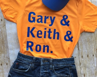 New York Mets - Gary Keith Ron - SNY - Broadcast Booth - Adult T-Shirt (Men's and Women's available!)