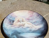A Mothers Love Unicorn Plate Hamilton Shalation