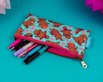 Platypus Pencil Case, Platypup Pen Bag, Cute Pouch, Platypus Pencilcase