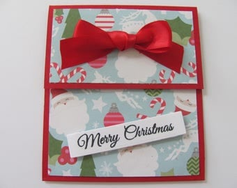 Holiday Gift Card Holders, Gift Card Envelopes, Gift Cards, Money Holders, Christmas Gift Card Holders, Gift Card Box, Christmas Cards