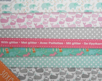 8 sheets paper creative effect glitter 30 x 15 cm new scrapbooking/cardmaking