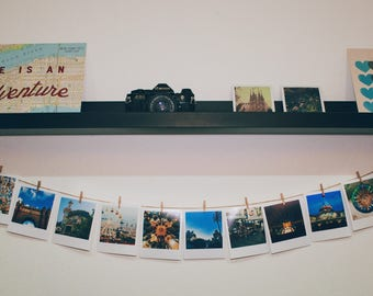 Polaroid Style Pictures of Barcelona