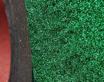 "Glitter Green 20"" Heat Transfer Vinyl Film By The Yard"